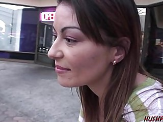 Hot married MILF Angelica deep throats young cock then gets a good hard fuck